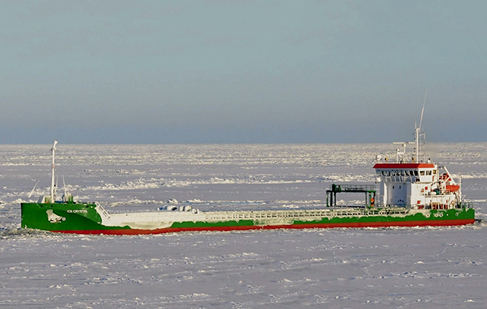 Mini-bulk carrier Ice Crystal